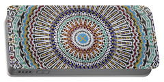 Beautiful Infinity Desgn Mosaic Fountain Portable Battery Charger