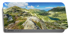 Beautiful Landscape Of Pirin Mountain Portable Battery Charger