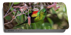 Beautiful Sunbird Portable Battery Charger