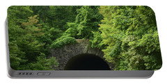 Beautiful Tunnel With Greenery, Nc Portable Battery Charger