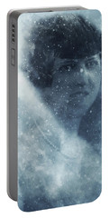 Beauty In The Snow Portable Battery Charger
