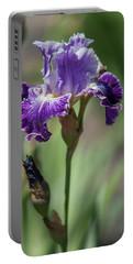 Beauty Of Irises. Telepathy Portable Battery Charger