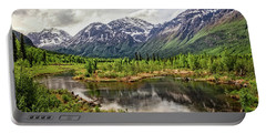 Beaver Pond, Eagle River Ak Portable Battery Charger