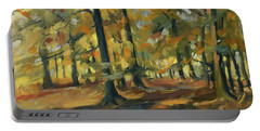 Beeches In Autumn Portable Battery Charger