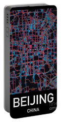 Beijing City Map Portable Battery Charger