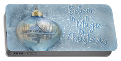 Believe In The Magic - Hope Valley Art Portable Battery Charger
