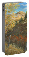 Belt Butte Autumn Portable Battery Charger