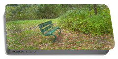 Bench Overlooking Pine Quarry Portable Battery Charger