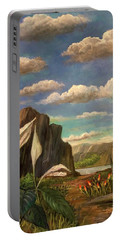 Beneath The Clouds Of Africa Portable Battery Charger