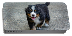 Bernese Mountain Dog Puppy 2 Portable Battery Charger