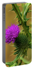 Between The Flower And The Thorn Portable Battery Charger