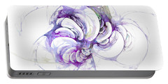 Beyond Abstraction Purple Portable Battery Charger