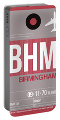 Bhm Birmingham Luggage Tag II Portable Battery Charger