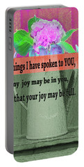 Bible Verses  Art 131 Portable Battery Charger