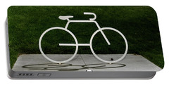 Portable Battery Charger featuring the photograph Bicycle by Randy Scherkenbach