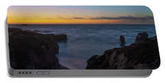 Big Sur California Sunset Portable Battery Charger