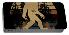 Bigfoot Does Not Believe In You Either Animals Science Portable Battery Charger