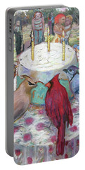Bird Day Party Portable Battery Charger
