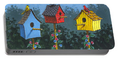 Bird House Lane Sketch Portable Battery Charger