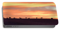 Bison Elk Panorama Portable Battery Charger