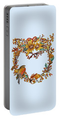Bittersweet Wreath Portable Battery Charger
