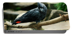 Black And Red Cockatoo. Portable Battery Charger