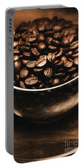 Black Coffee, No Sugar Portable Battery Charger