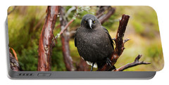 Black Currawong Portable Battery Charger