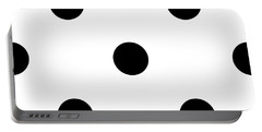 Black Dots On A White Background- Ddh610 Portable Battery Charger