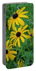 Black Eyed Susans 1 Portable Battery Charger