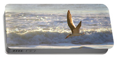 Portable Battery Charger featuring the photograph Black Skimmer In Flight by Robert Banach