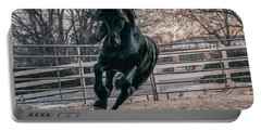 Black Stallion Cantering Portable Battery Charger