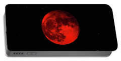 Blood Red Wolf Supermoon Eclipse 873a Portable Battery Charger