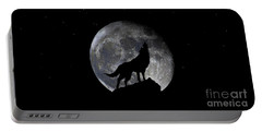 Pre Blood Red Wolf Supermoon Eclipse 873r Portable Battery Charger