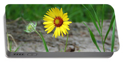 Bloom And Waiting Portable Battery Charger
