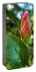 Blooming Hibiscus Portable Battery Charger