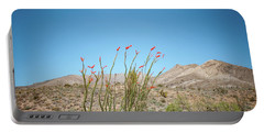 Blooming Ocotillo Portable Battery Charger