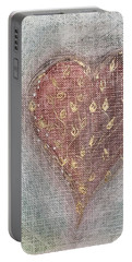Portable Battery Charger featuring the photograph Blossoming Love by Marianna Mills