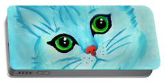 Blue Cat Portable Battery Charger