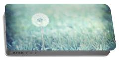 Blue Dandelion Portable Battery Charger