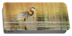 Blue Heron Fishing Portable Battery Charger