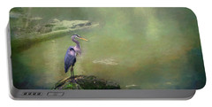 Blue Heron Isolated Portable Battery Charger
