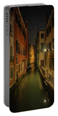 Portable Battery Charger featuring the photograph Blue Hour In Venice by Tim Bryan