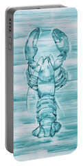 Blue Lobster Portable Battery Charger