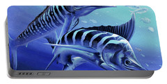 Blue Marlins Portable Battery Charger