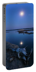 Portable Battery Charger featuring the photograph Blue Moonlight by Davor Zerjav