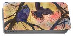 Blue Owl Portable Battery Charger