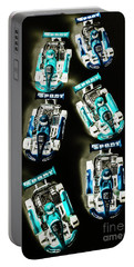 Blue Racers Portable Battery Charger
