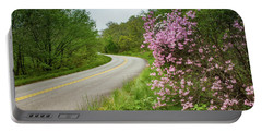Blue Ridge Parkway In Bloom Portable Battery Charger