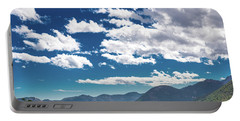 Blue Skies And Mountains II Portable Battery Charger